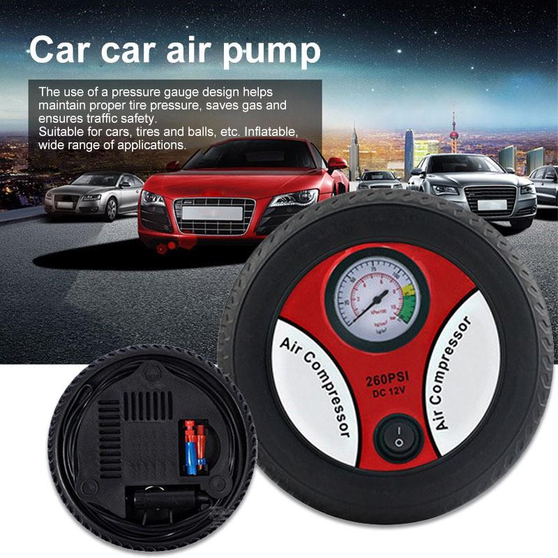 12v Input Electric Inflating Machine 260psi Car Tire Inflation Pump