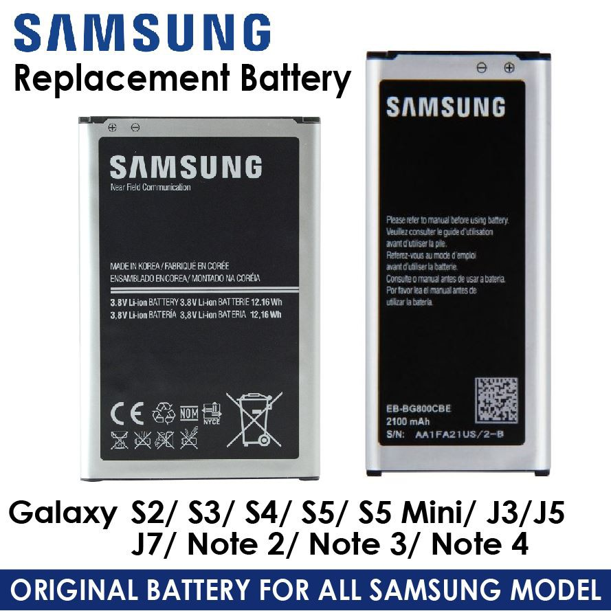 🥇Original Samsung Replacement Battery (Retail Package)