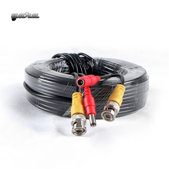 CCTV DVR Camera Recorder Video Cable DC Power Security Surveillance BNC Cable HM