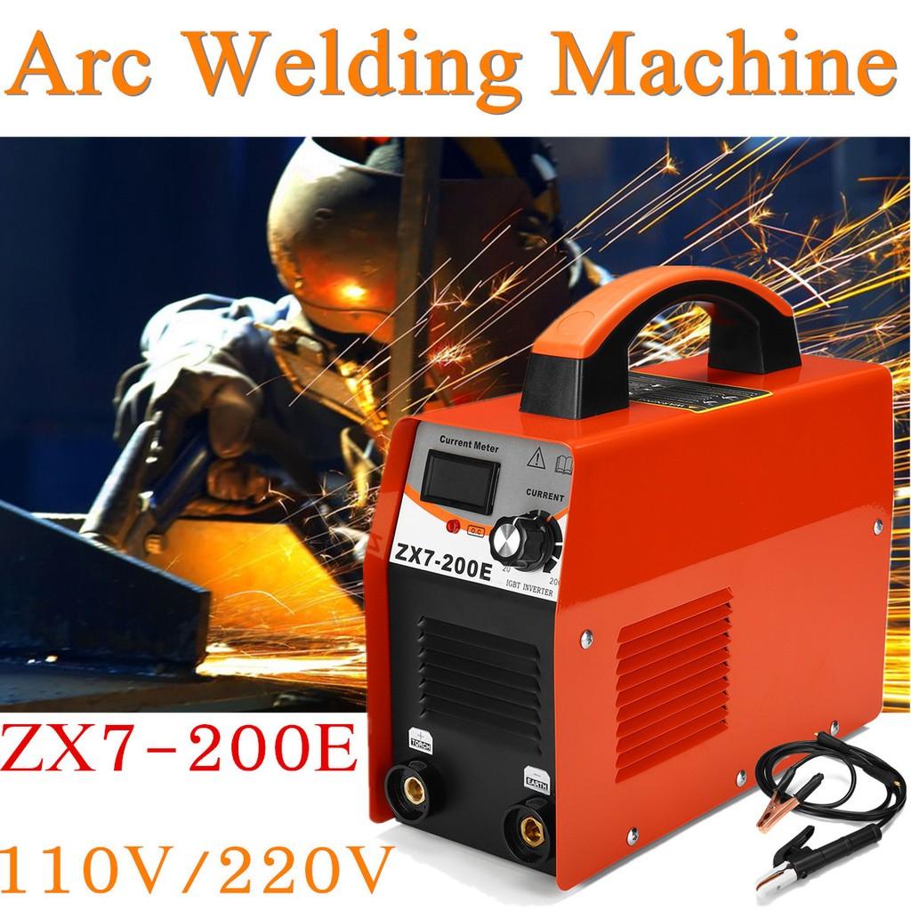Tig Welders Automotive Tools & Supplies Forceful 1xhandheld Mini Mma Electric Welder 220v Power Inverter Arc Welding Machine Tool