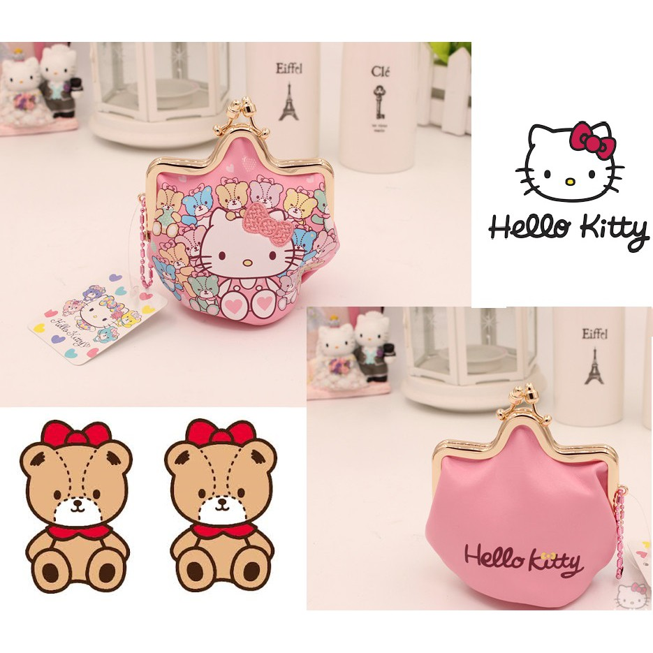 7e35ee79403f Tsum Tsum   Hello Kitty   My Melody Cardholder and Lanyard