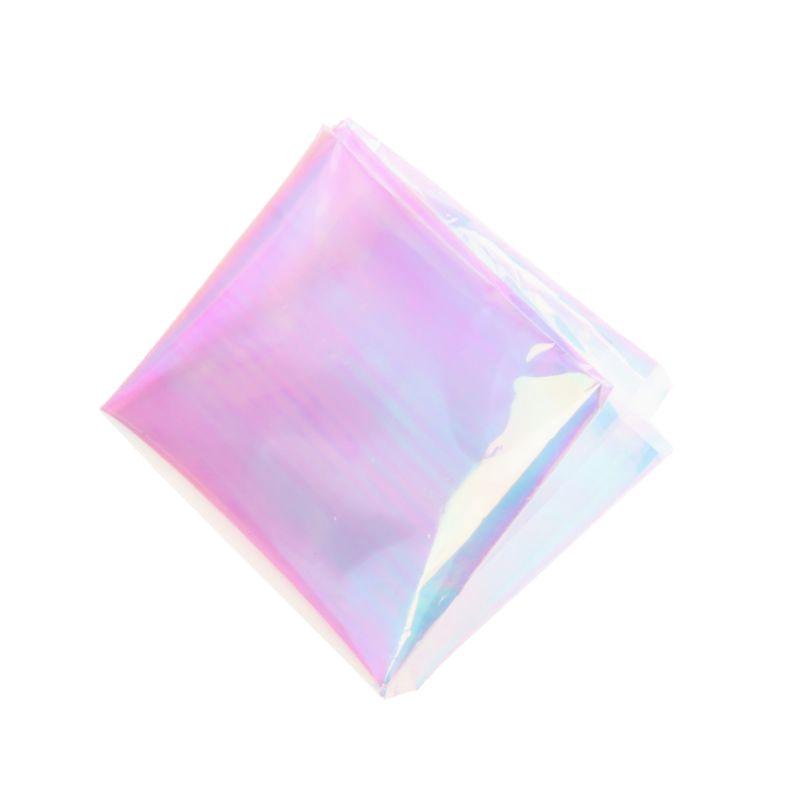 SENG Laser Aurora AB Effect Reflective Mirror Paper DIY Epoxy Resin Jewelry  Fillings