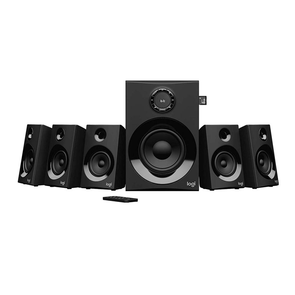 Logitech Z607 5 1 Surround Speaker 160W For Computers,PCs,TVs,Phones,Tablet  1Y