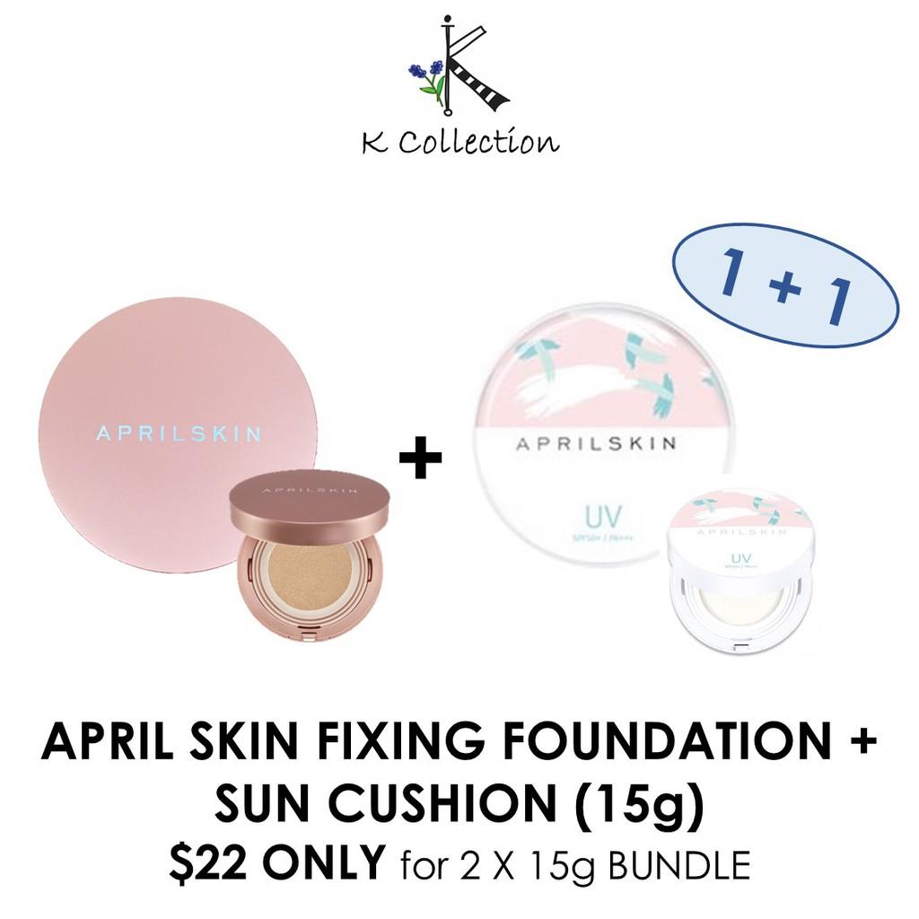 April Skin Perfect Magic Cover Fit Cushion Authentic Shopee Aprilskin Singapore