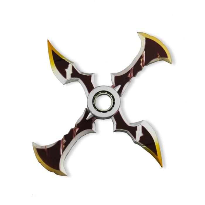 Free Delivery League Of Legends Lol Zed Shuriken Hand Fidget