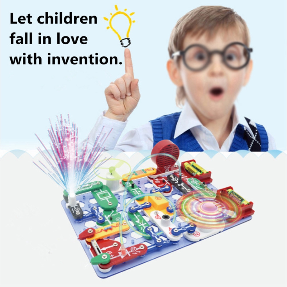 Snap Circuits Jr Sc 100 Electronics Discovery Kit Shopee Singapore New Factory Sealed