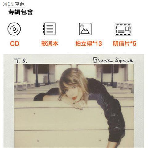 Taylor Swift 1989 Album Cd Words Book Polaroid Postcard Shopee Singapore