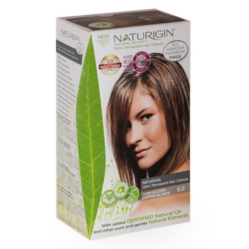 Naturigin 74 Medium Blonde Red 100 Permanent Organic Hair Colour