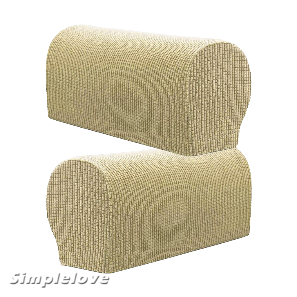Set Of 6 Flannel Sofa Armrest Covers Sofa Arm Slipcovers