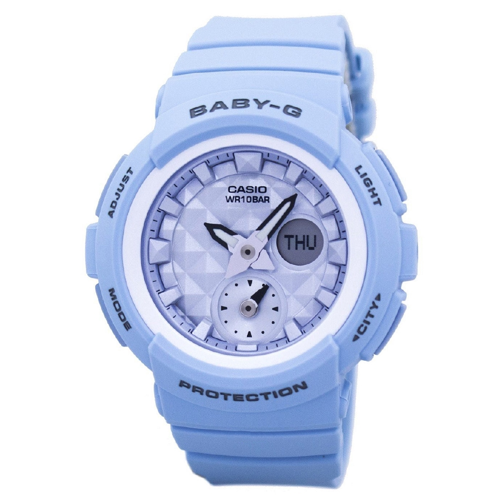 d31d675671870 Casio Baby-G Shock Resistant World Time BGA-190BE-2A BGA190BE-2A Womens  Watch