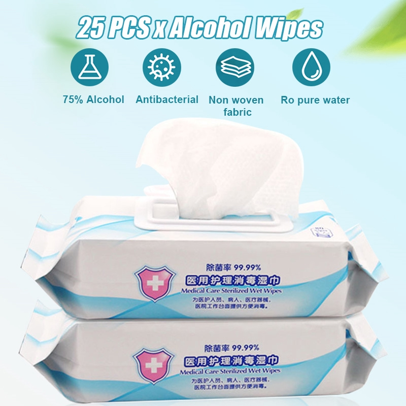 Disinfectant Wipes,Portable Wet Wipes Cleaning Wipes 75 Wet Wipes,110sheets//PACK