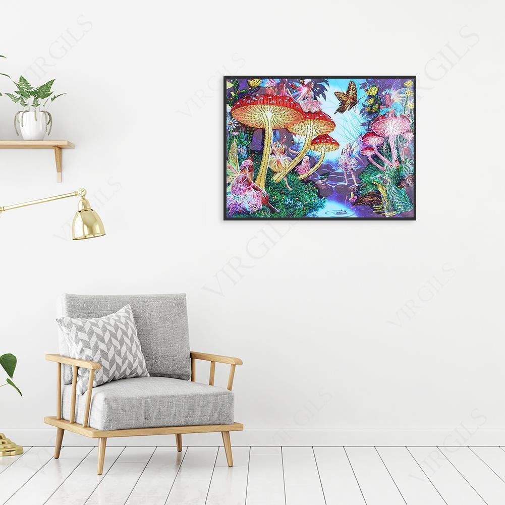 VS2# 5D DIY Full Drill Diamond Painting Animal Cross Stitch Embroidery Mosaic C