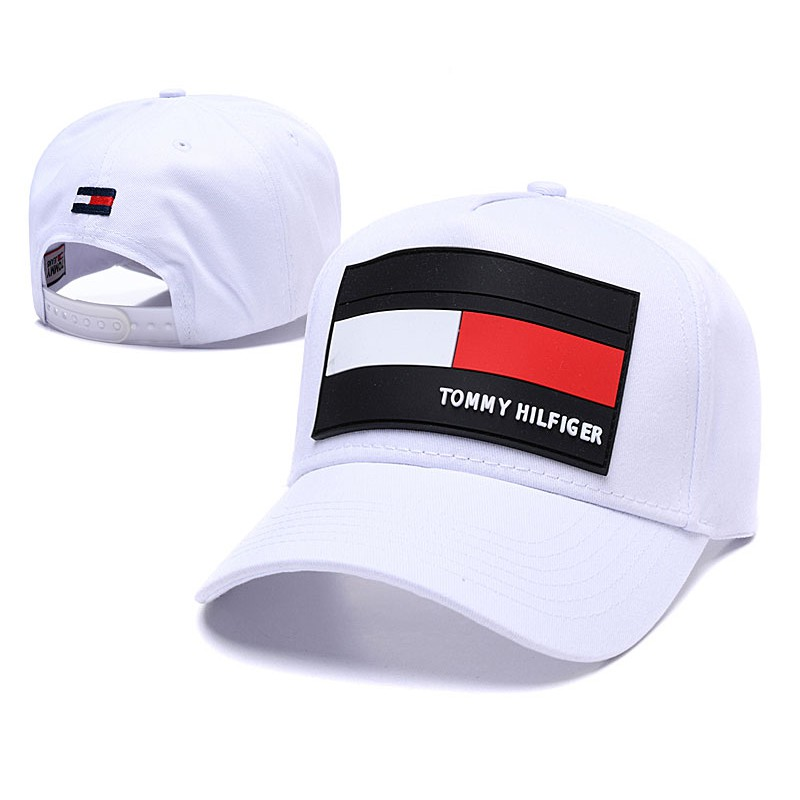 90b3a28e9451dc TOMMY HILFIGER fashion baseball cap adjustable casual embroidery hat    Shopee Singapore