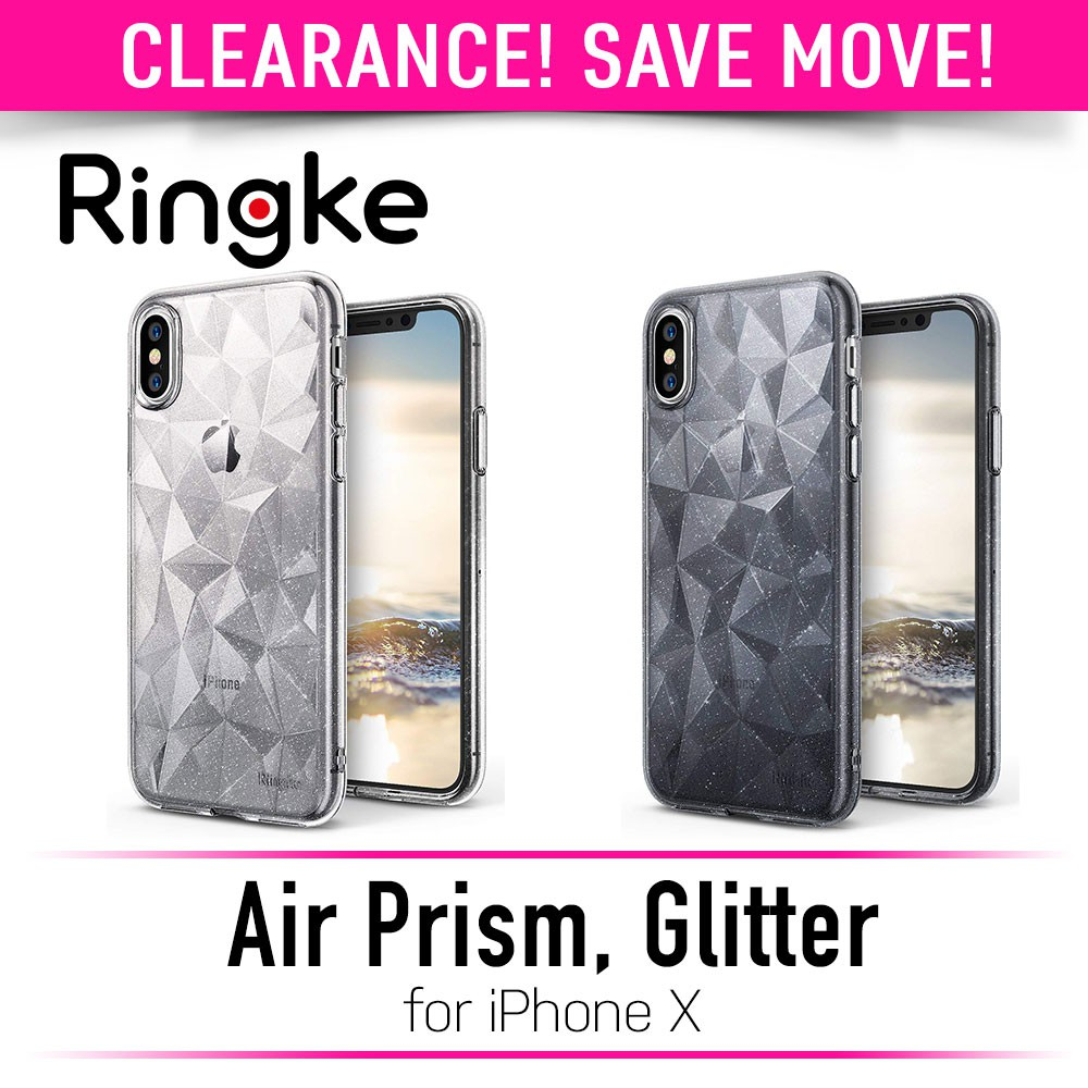 Ringke Air Prism Glitter Series Case For Iphone Xs X Shopee Singapore 7 Plus Ink Black