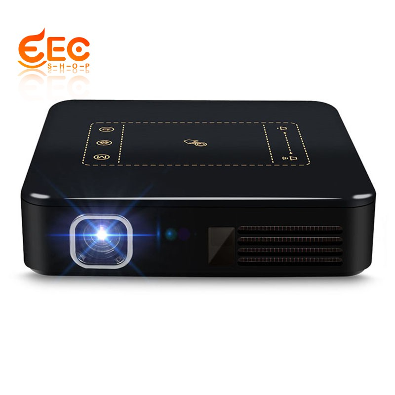 651389b4e32e02 👉Ready stock👈Android 7.1 Pocket Mini Projector D13 4K Smart TouchPad ( US  Plug) | Shopee Singapore