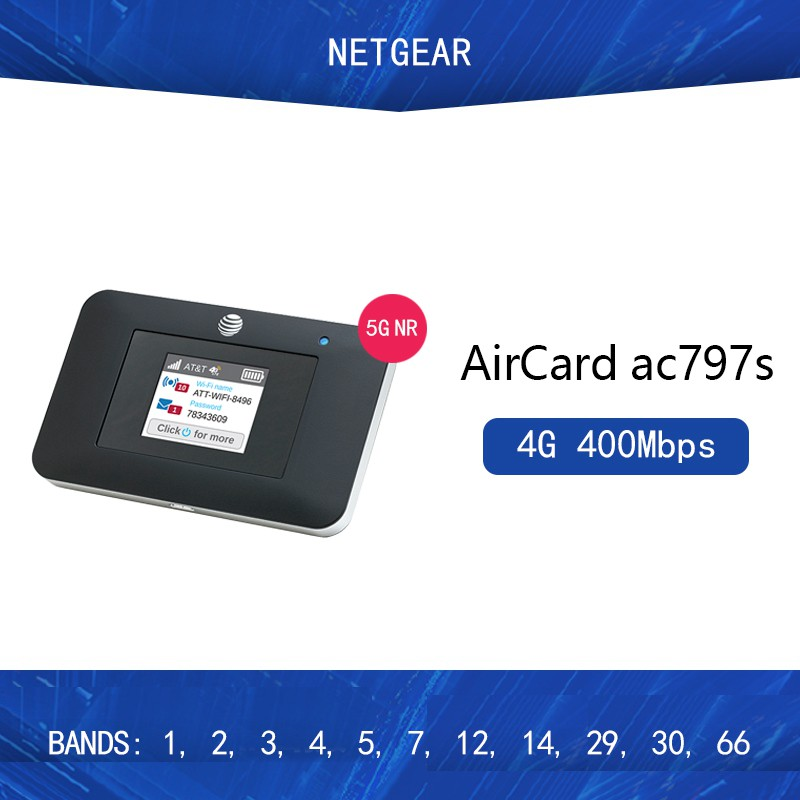 Netgear AirCard 797s Ac797s Cat13 400Mbps 4g Mifi dongle 4G Wifi ...