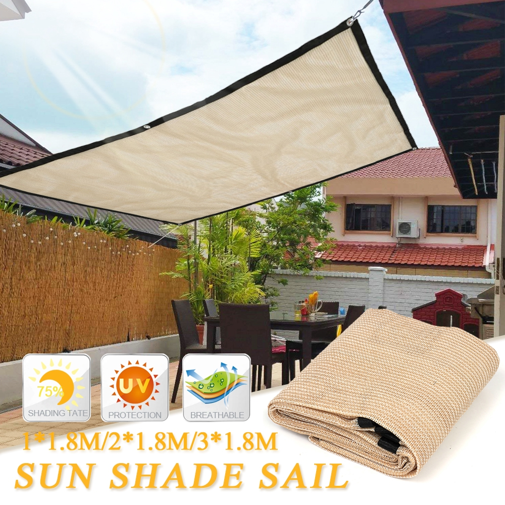 1 8m Sunproof Sun Shade Sail Outdoor