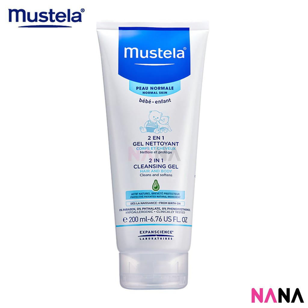 Mustela Bebe 2 In 1 Hair And Body Wash Cleansing Gel For Baby Child Dettol Gold 250ml X2pcs Classic Clean Reffil 200ml Huohuo Shopee Singapore