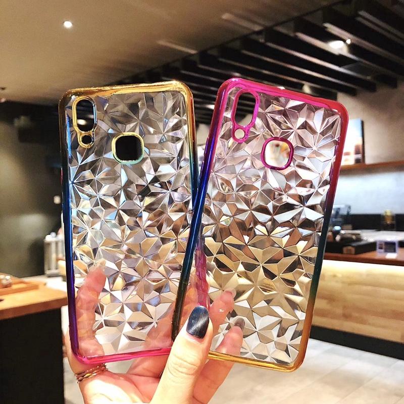 Casing For Vivo Y53,Y55,Y71,Y81,Y83,Y93,Y97 3D Crystal Soft Diamond Phone Case
