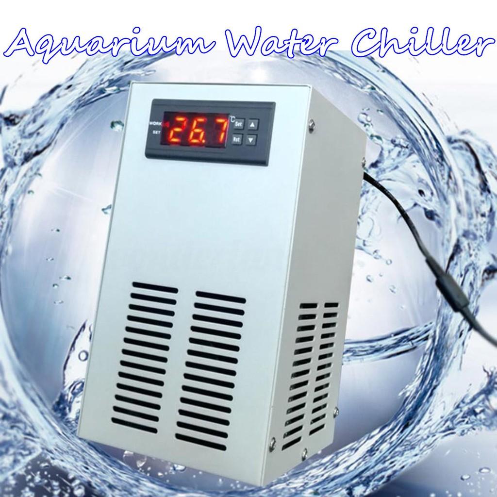 Aquarium Water Chiller Fish Shrimp Tank Cooling LCD Display