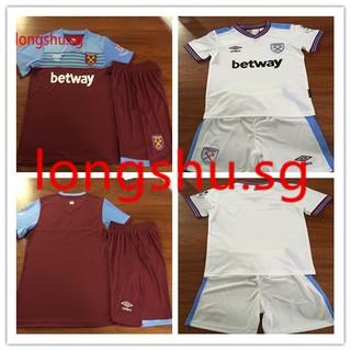 big sale cdf03 955bd 2019-2020 youth West Ham United Home Uniform kids soccer ...