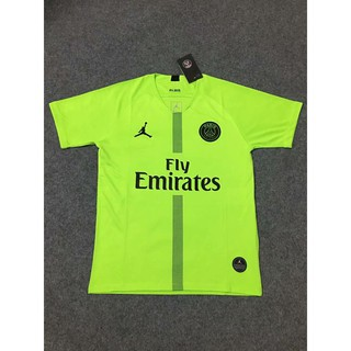 best website 3d373 e3707 Sale 18- 19 Paris Jordan UCL PSG Green Goalkeeper Soccer ...