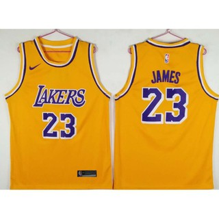 sports shoes 147bd 32dbe 2018-2019 Original Nike NBA Los Angeles Lakers LeBron James ...