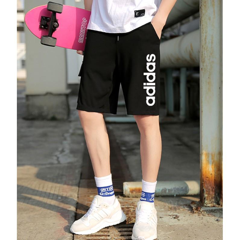 Adidas Black Mint Green Shorts Women Sports Casual Loose Hot Pants dy8665 dy8662