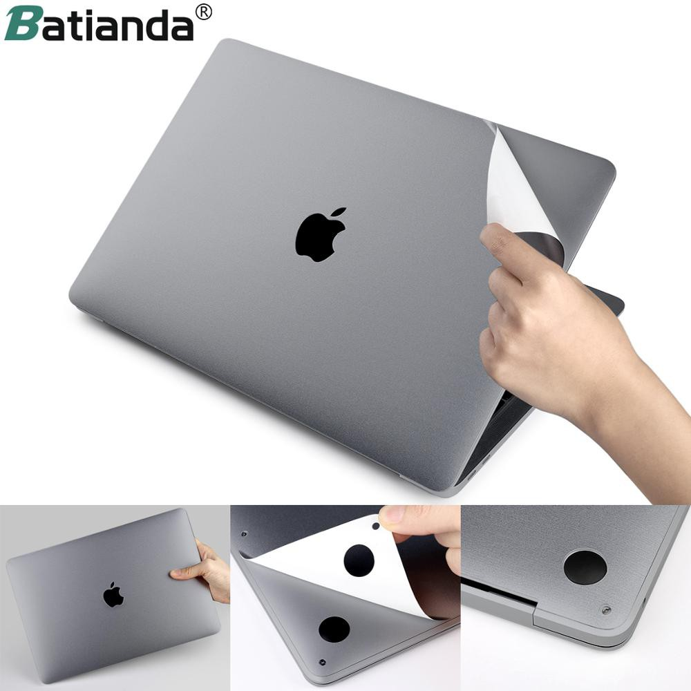 Compatible for Laptop Sticker Compatible for MacBook Air 13 11 Pro 13 15 12 Retina Touch Bar Full Body Compatible for Laptop Skin Vinyl Protector
