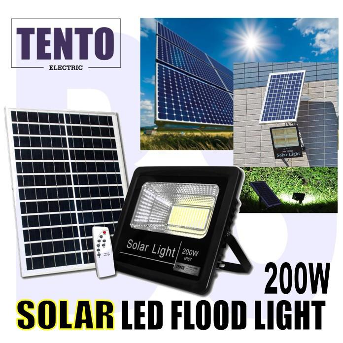 Solar Led Flood Light 100w 200w
