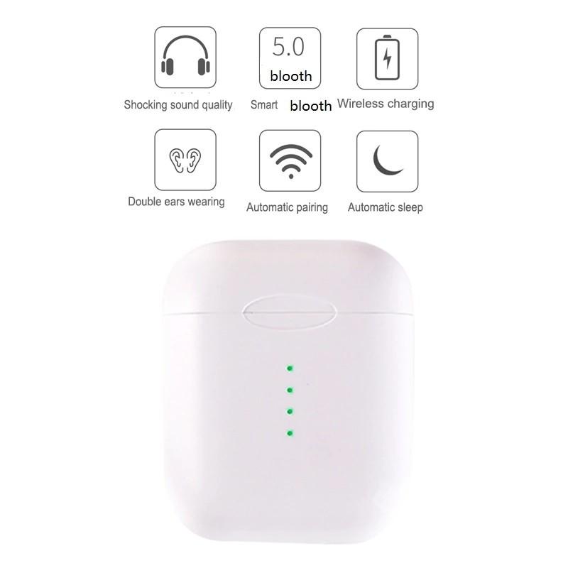 Original i10 tws wireless bluetooth 5 0 air earbuds support