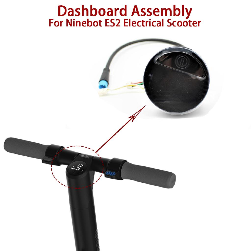 Original Dashboard Assembly Repair Parts For Ninebot ES2