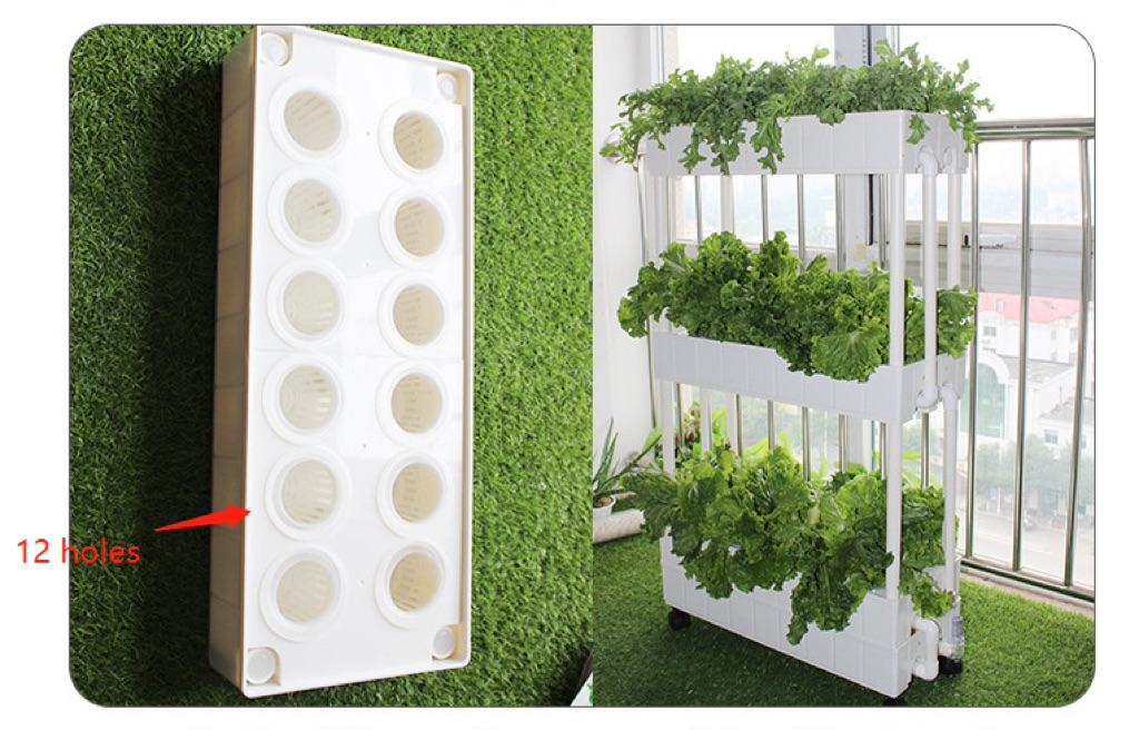 2.3 layers NFT hydroponic system balcony | Shopee Singapore
