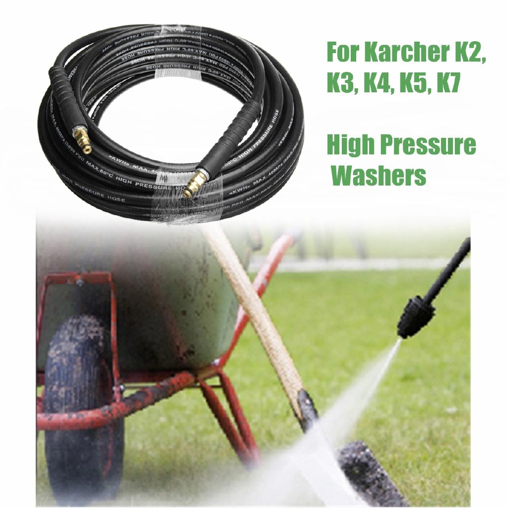 15m Karcher K Series Pressure Washer Hose Click Trigger Click K2 K3 K4 K5 K7 Hot