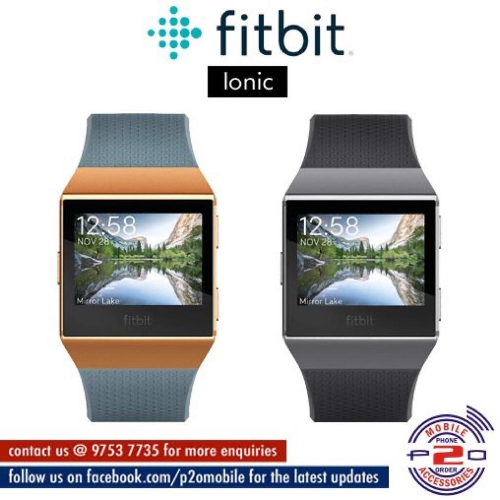 Fitbit Ionic Smartwatcho Shopee Singapore