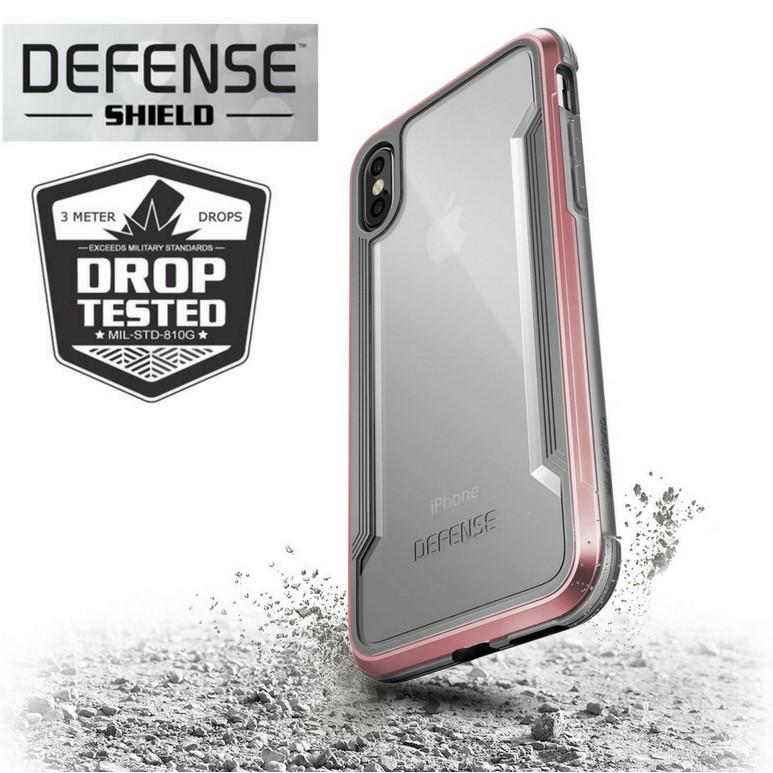 huge discount 66304 5b304 [3M DROP-TESTED] Military Grade X-Doria Defense Shield iPhone X Case