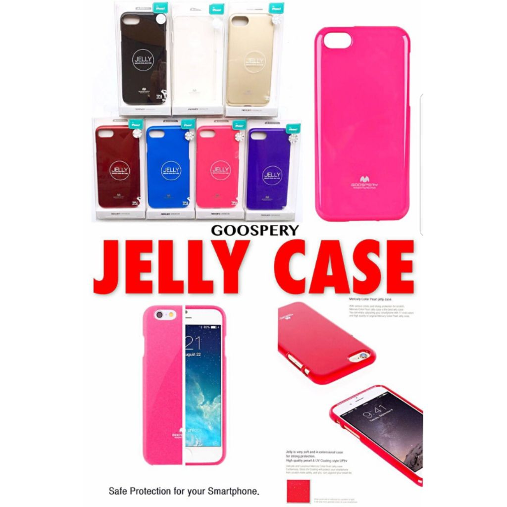 Shopee Singapore Hot Deals Best Prices Goospery Iphone 8 Plus Style Lux Jelly Case Hotpink