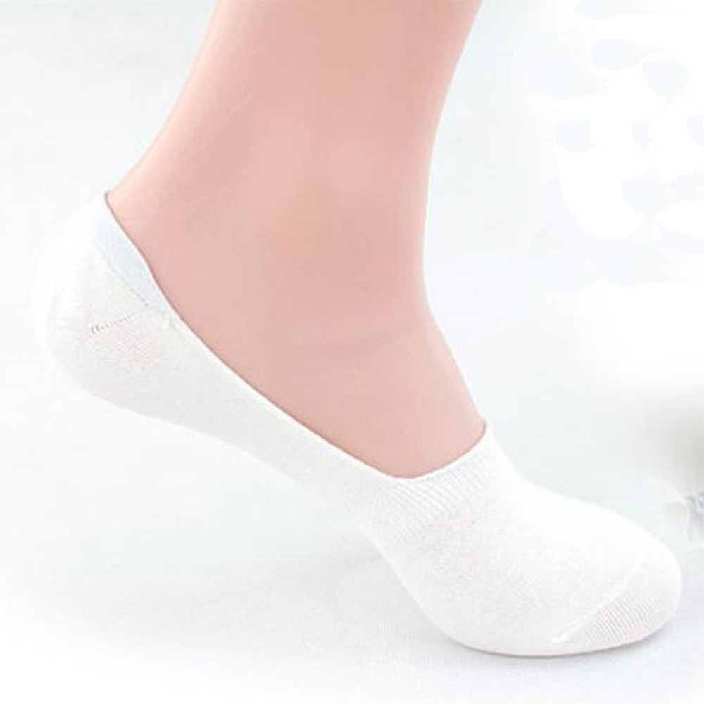 Healthy Men Cotton Fiber Show No Invisible Bamboo Boat Low Socks Cut Loafer