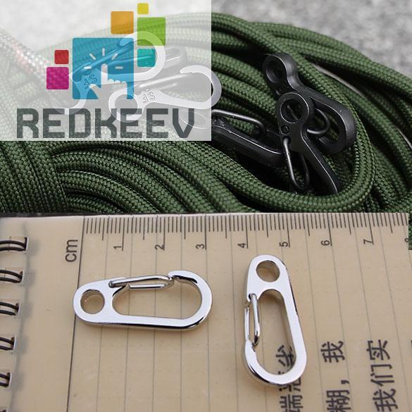 Carabiner Clip Snap Hook Small Keyring Keychain Camping Sport Karabiner Tool