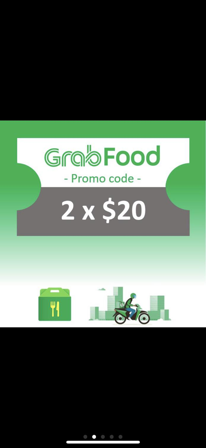Brands Festival Exclusive] GrabFood SGD 2x20 - Instant delivery