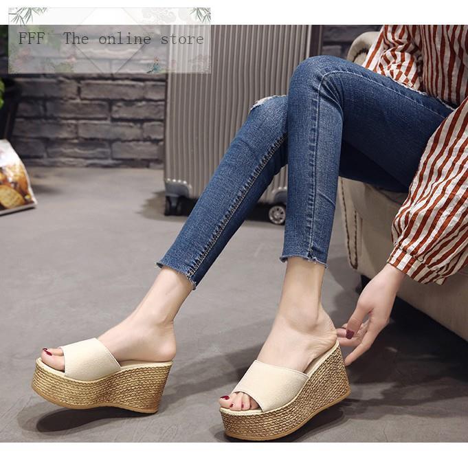 2ecf6ee5163 Black stylenanda inspired strap platform heel sandals