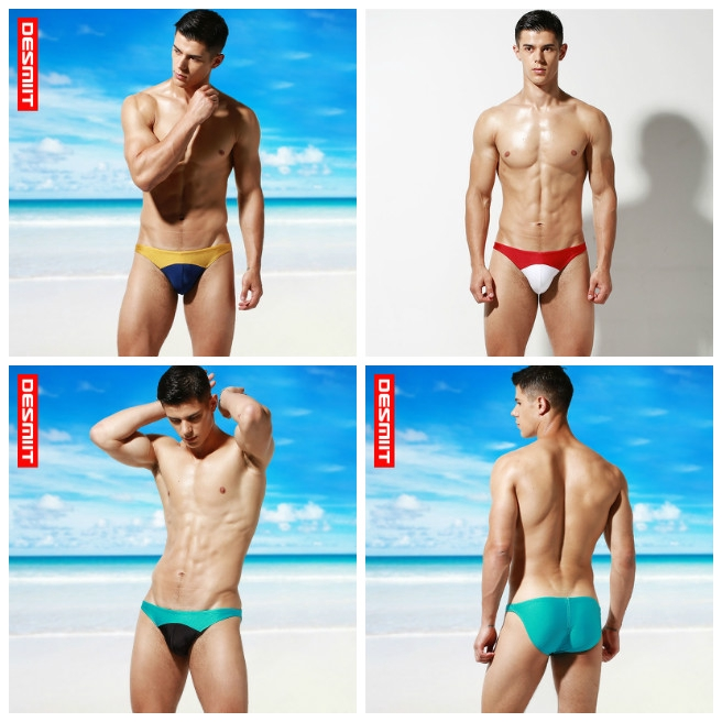 d691179a19 Men Swim Briefs Sexy Pouch Pad Bikini Men's Swimming Trunks Sea Pool  Beachwear | Shopee Singapore