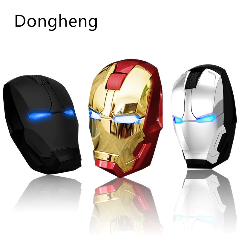 e9787bc2e40 Iron Man Wireless Game Mouse USB 2.4G 4D 1600 DPI | Shopee Singapore