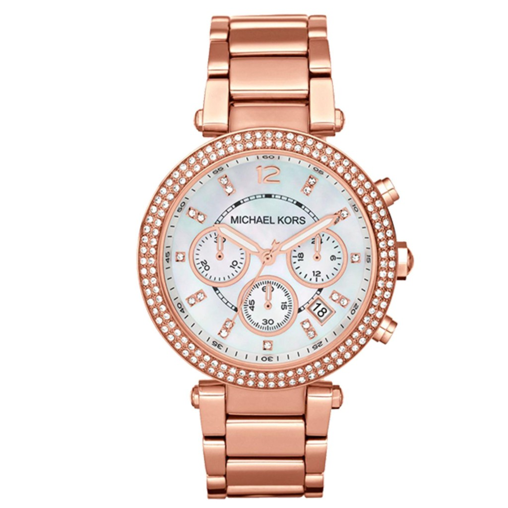 7f3536ff1c82 Michael Kors MK6357 Ritz Rose Dial Ladies Watch