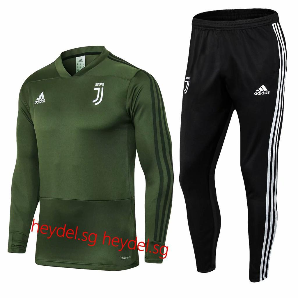 half off b8572 88166 2018-19 Juventus FC Men Long sleeved training uniform soccer ...