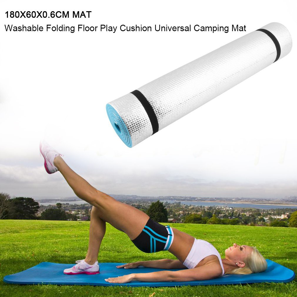 183x60x1.5cm High Density Perfect for Home Gym /& Fitness Exercise /& Fitness Mat Includes Carry Strap Yoga /& Pilates Easy to Clean /& Store Compact /& Lightweight For Camping /& Picnics