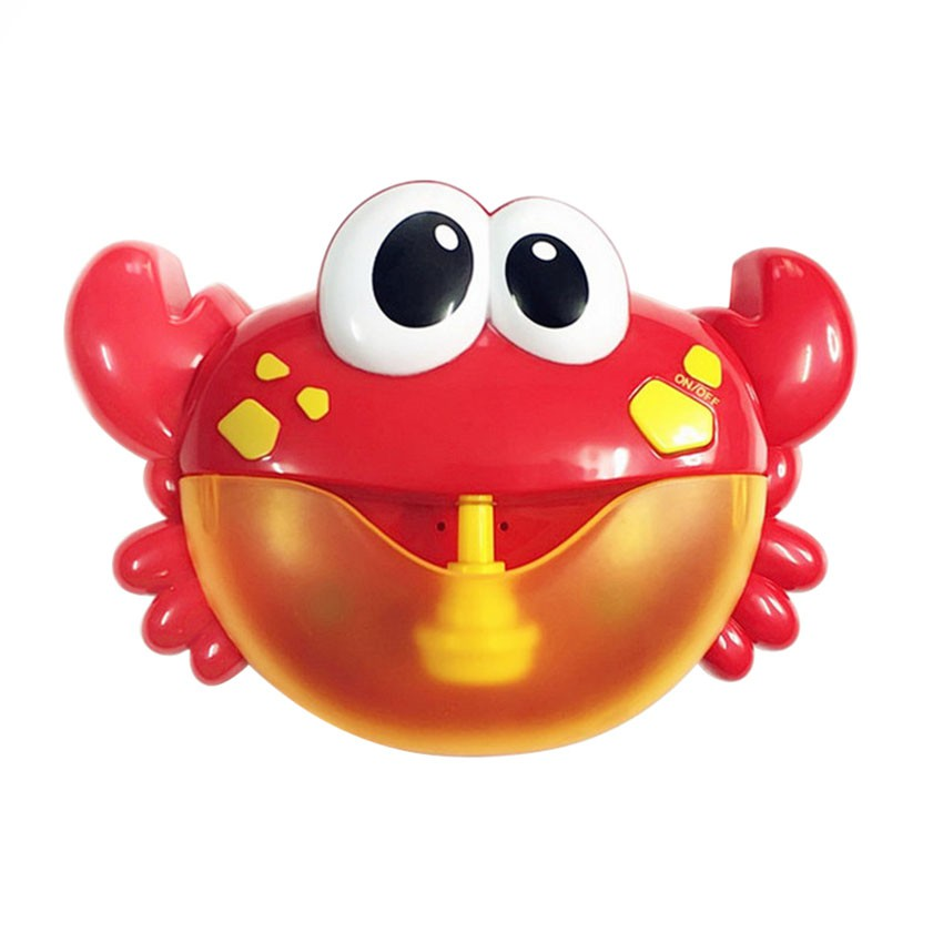 Toys & Hobbies Bubbles Cartoon Red Creative Simulation Sea Animal Shape Bubble Big Crab Children Toy Bath Soap Machine 24 Songs Bubble Maker Strong Packing