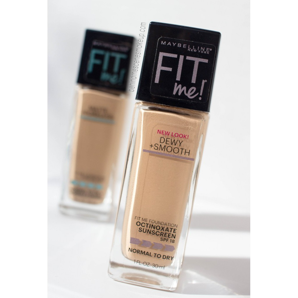 Maybelline Fit Me Dewy Smooth Foundation Shopee Singapore