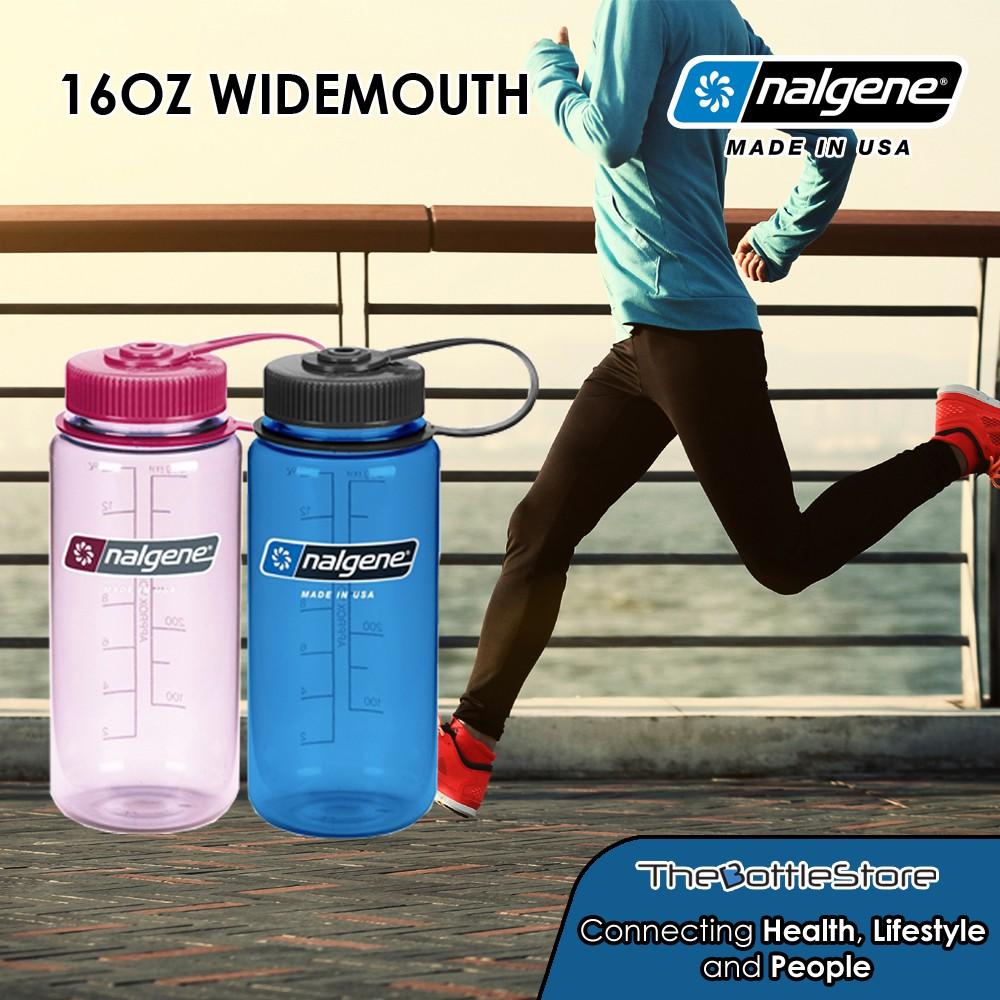 16oz Widemouth Tritan Plastic BPA Free Water Bottles