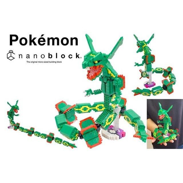 5z5 Nano-block Pokemon Rayquaza NBPM/_064 from JAPAN